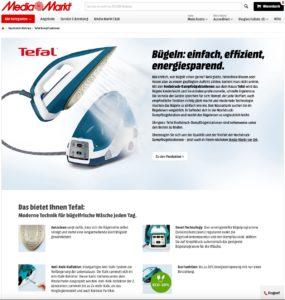 Produkttext: Tefal Dampfbügelstation
